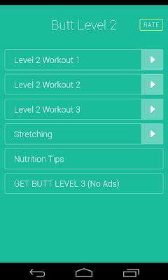 Butt & Legs Workouts Level 2 - screenshot
