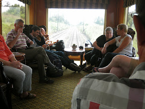 Photo: View from the observation car