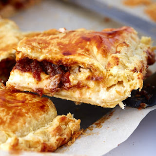 Kreatopita - Greek Meat Pie with Beef and Bechamel Sauce Recipe