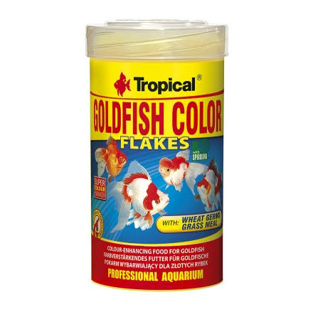 Tropical Goldfish Color Flakes 100ml/20g