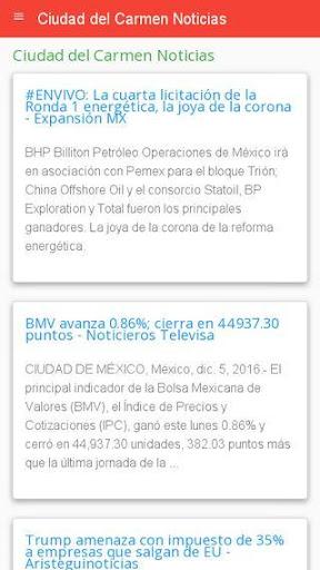 Noticias Ciudad del Carmen Apk Download 2