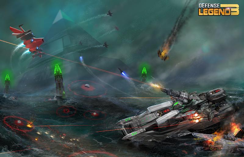 Defense Legend 3: Future War Screenshot 3