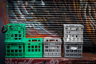 Photo: Crates and Canon