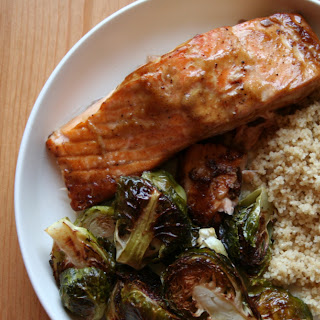 Soy-Dijon Baked Salmon Recipe