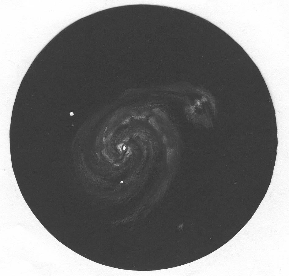 Photo: M51, T406 à 175X, le 6 avril 2007.