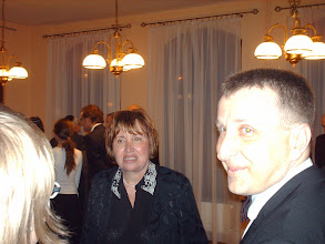 Photo: Ilona Dvorak-Cousine  Przewodniczaca Towarzystwa Przyjazni Israel-Polska