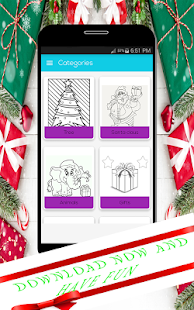 Coloring Pages For Christmas - náhled