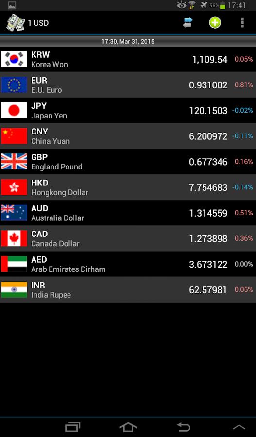 Currency - screenshot