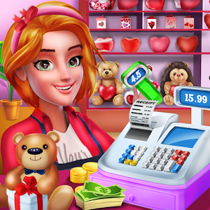 Love Cashier : Shopping Mall Girl Cash Register