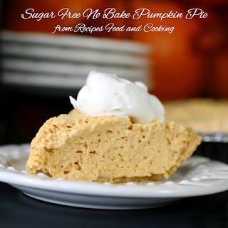 Sugar Free Pumpkin Cheesecake Pie