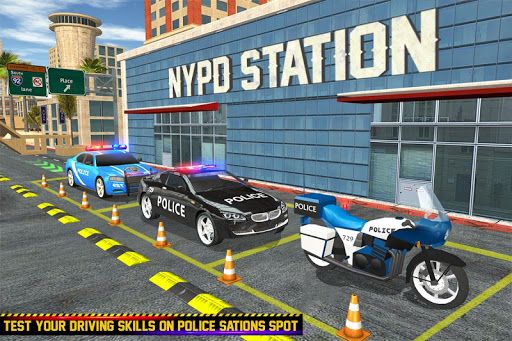 US Police Parking: Car Games 1.0 screenshots 17
