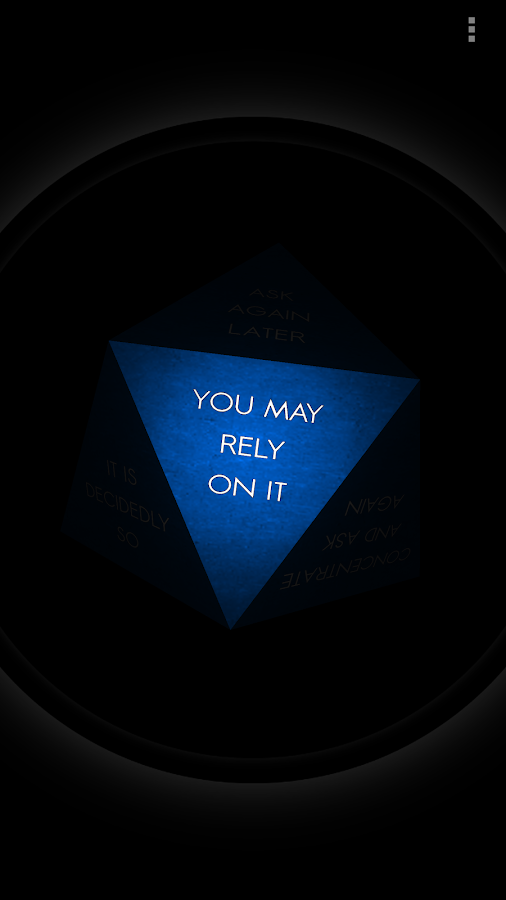Magic 8 Ball 3D- screenshot