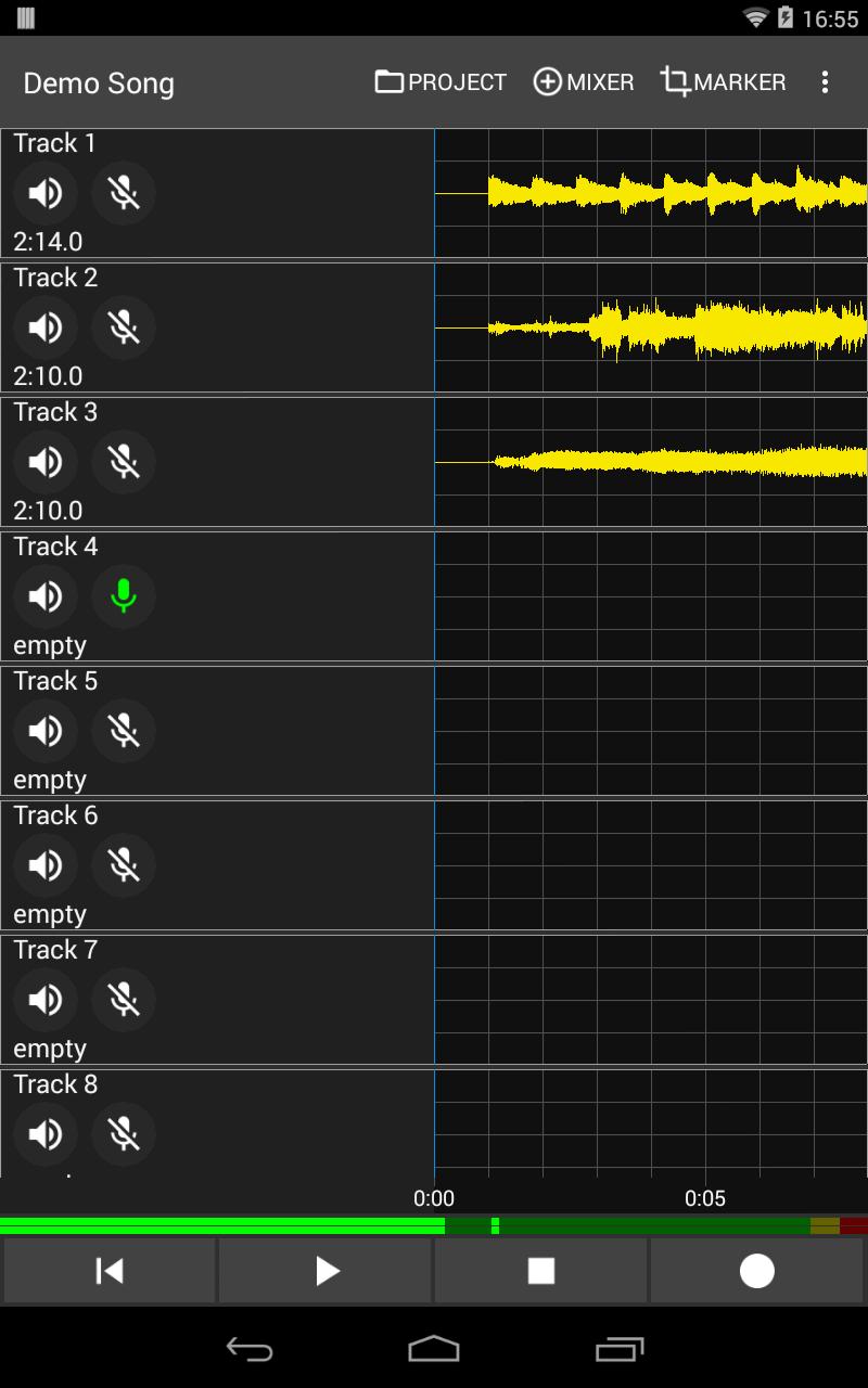 Aubade Audio Studio Screenshot 8