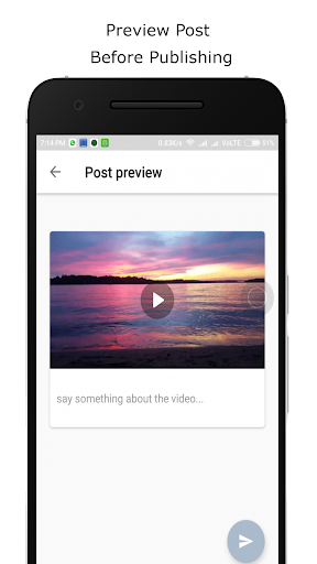 Upload videos to Facebook and Youtube 1.3 screenshots 1