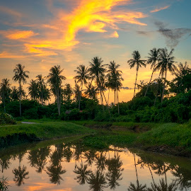 Nature Reflection Photography by Ah Wei (Lung Wei) - Landscapes Sunsets & Sunrises ( penang )