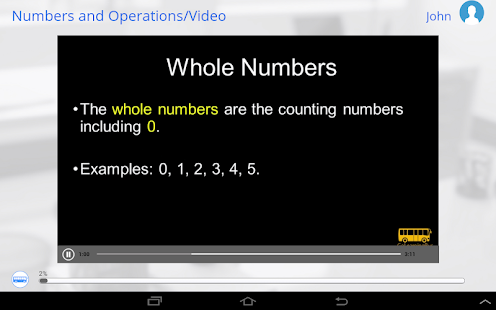 Learn Math via Videos- screenshot thumbnail