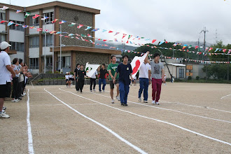 Photo: 入場行進