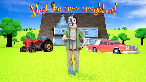 Scary Clown Man Neighbor. Seek & Escape 1.12 Screenshots 1