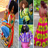 Ankara Fashion Style Africa Model 2