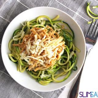Garlic Zucchini Noodles.
