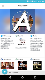 A100 Radio- screenshot thumbnail