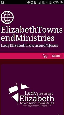 android ElizabethTownsendMinistries Screenshot 0