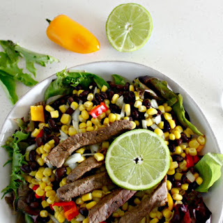 Easy Southwest Salad with Certified Angus Beef.