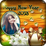 New Year Photo Editor : New Year Photo Frame Icon