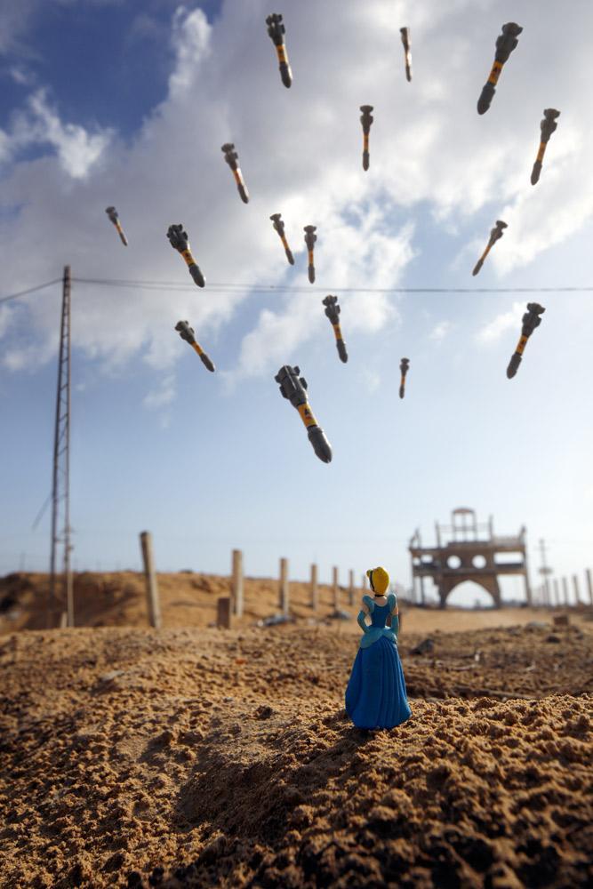 Resultado de imagen para Gaza Cinderella photo Brian Mccarty