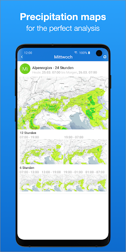 bergfex/Weather App - Forcast Radar Rain & Webcams screenshots 4