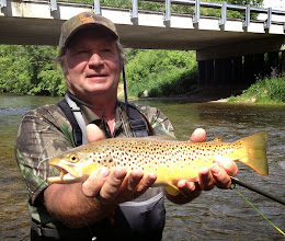 Photo: A happy Steve Buckley on the Mad River in Ohio