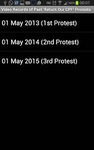 May Day Protest screenshot 1