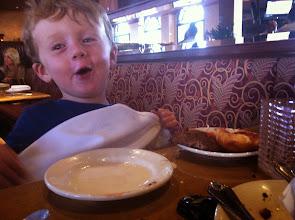 Photo: Finn at Cheesecake Factory