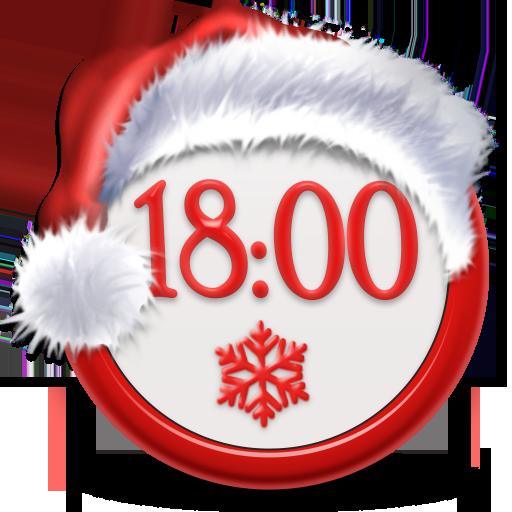 Santa Claus Weather Widget Icon