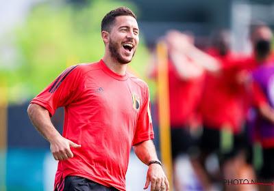 🎥 Les entraînements ont repris pour Eden Hazard et Thibaut Courtois
