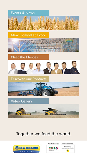 New Holland Expo2015 类别