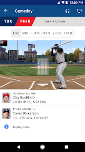MLB.com At Bat Screenshot