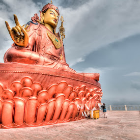 Namchi by Shikhar Sharma - Buildings & Architecture Places of Worship ( religion, buddhism, monastry, guru, idol, sikkim )
