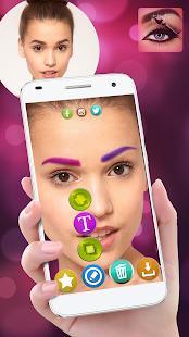 Eyebrow Editor Makeup Beauty Photo Effects - náhled