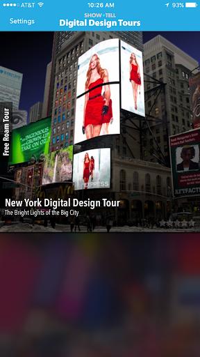 玩免費遊戲APP|下載Show+Tell Digital Design Tours app不用錢|硬是要APP