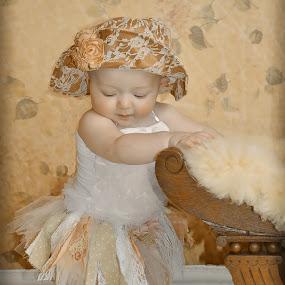 Mattie by Cindy Lowther - Babies & Children Child Portraits