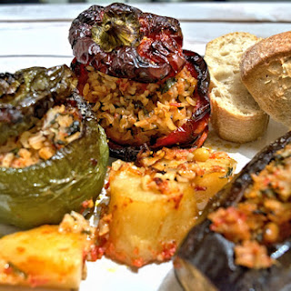 Greek Stuffed Eggplant Vegetarian Recipes.