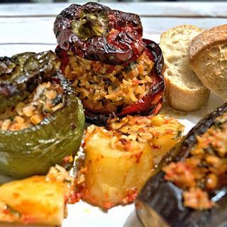 Greek Stuffed Eggplant Vegetarian Recipes.