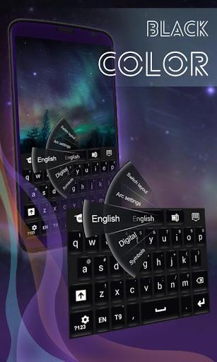 黑色的鍵盤顏色