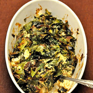 Baked Chard with Feta.