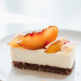 Caramelized Peach Cheesecake.