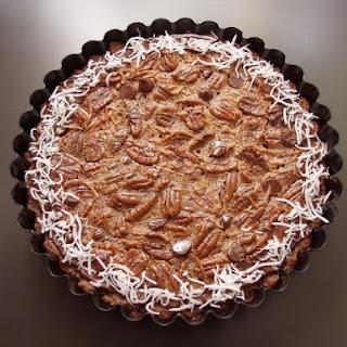 Kentucky Bourbon Chocolate Pecan Pie