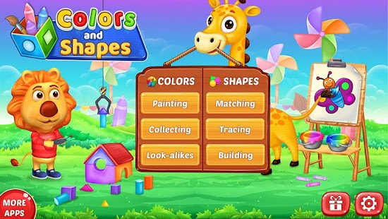 Colors & Shapes - Kids Learn Color and Shape- screenshot thumbnail