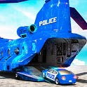 US Police Car Transporter Truck: Parking Game 2020 icon
