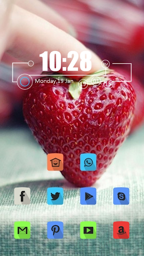the Strawberries Theme